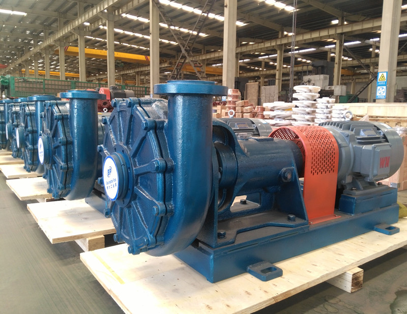 UHB-ZK Corrosion-resistant mortar pump product structure features
