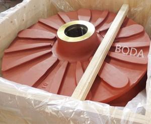 Abrasive slurry pump parts Slurry Pump Impeller
