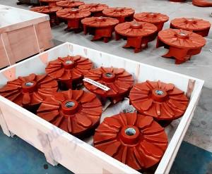 Horizontal Froth Pump Parts