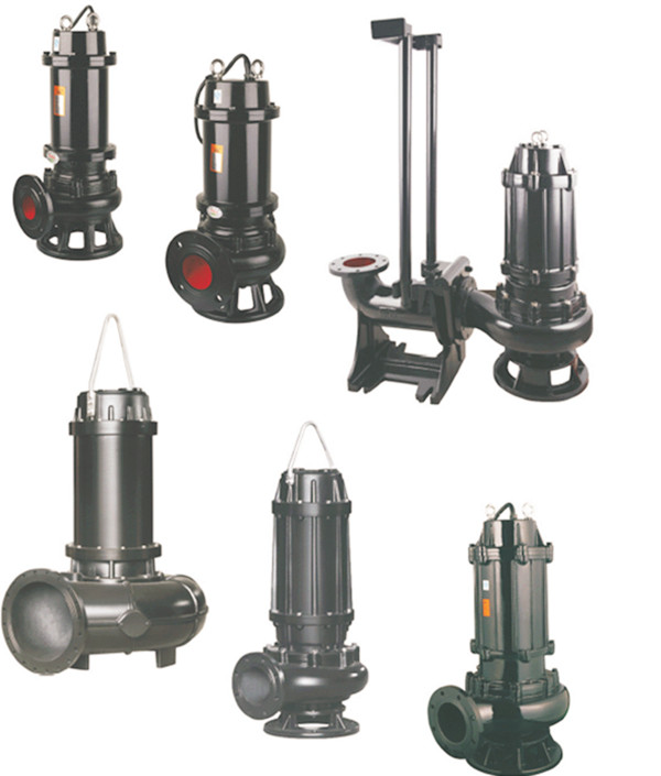 Non-Clog Waste Water Centrifugal Sewage Submersible Drainage Pump Featured Image
