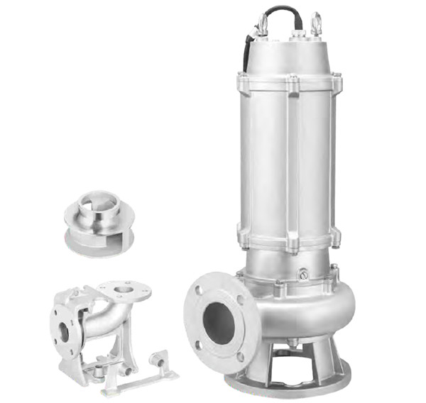 WQP Stainless Steel Sewage Water Pump Featured Image